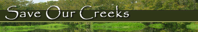Save our creeks